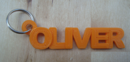 Image result for 3d printed name keychain