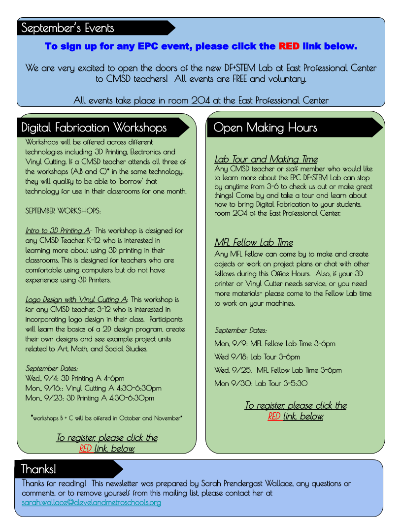 CMSD Fab Lab Update (3)